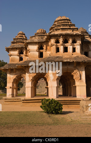 Elk201-2697v, Karnataka, India Hampi, Zenana alojamiento, Lotus Mahal