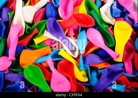 Globos de colores Foto de stock