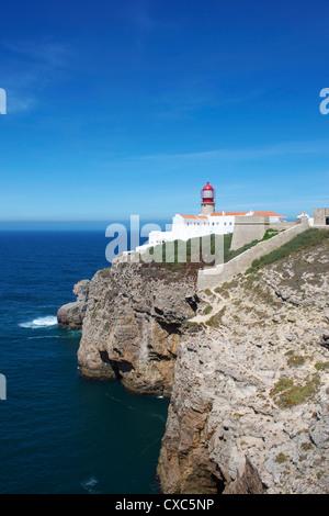 Cabo de São Vicente (Cabo San Vicente), Algarve, Portugal, Europa