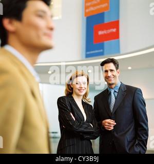 Hombre Mujer manager business group licencia gratis excepto los anuncios y vallas al aire libre