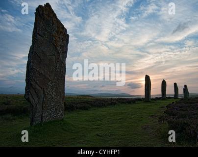 El anillo de Brodgar Stone Circle Orkney