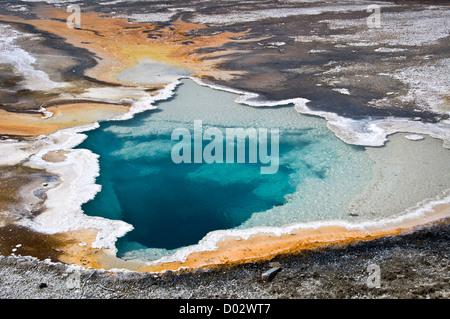 Doublet piscina - La Cuenca del Géiser Superior, el Parque Nacional Yellowstone, Wyoming, EE.UU.