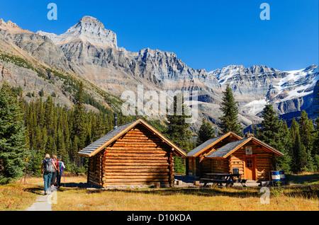 Elizabeth Parker Hut, el Parque Nacional Yoho, British Columbia, Canadá