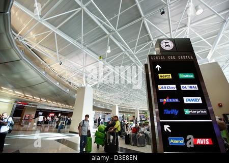 Centro de alquiler de coches, el Aeropuerto Internacional de Miami