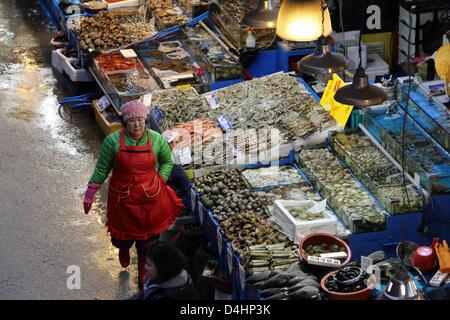 Corea del Sur: Mercado Mayorista Pesquero Noryangjin, Seúl