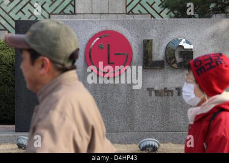 Corea del Sur: LG firmar en la sede principal de la empresa (LG) de las Torres Gemelas en Seúl