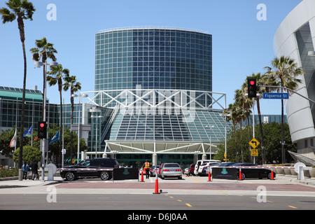 LOS ANGELES, California, EE.UU. - El 16 de abril de 2013, el Centro de Convenciones en el centro de Los Ángeles el 16 de abril de 2013.