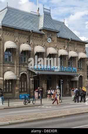 Estación central de trenes en Gotemburgo, Suecia