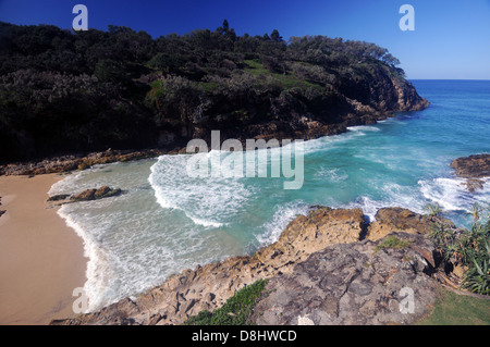 Barranco sur Beach, North Stradbroke Island, Queensland, Australia