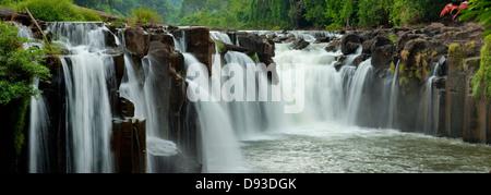 Si Kouang cascadas, Boloven, Laos