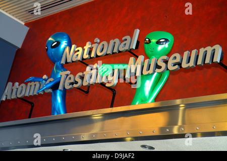 Nevada West Southwest Las Vegas Flamingo Road Museo Nacional de Pruebas Atómicas Área de desarrollo de armas nucleares 51 Aliens NV130401041
