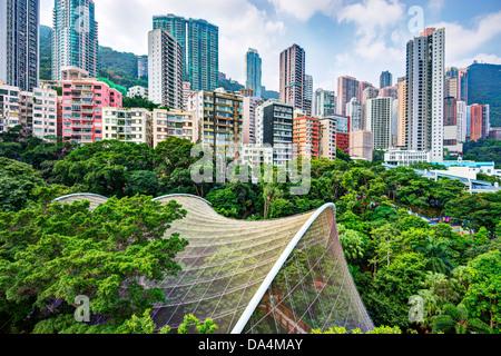 Edificio de apartamentos en la isla de hong kong a china - Apartamentos en hong kong ...