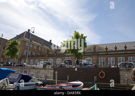 Prince's Mansion mansión de estilo rococó situado en Frederiksholms Kanal Copenhague Dinamarca alberga el Museo Nacional de Dinamarca.