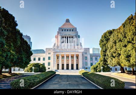 La Casa de la Dieta Nacional de Japón.