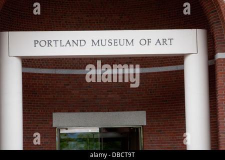 Museo de Arte de Portland es retratada en Portland, Maine