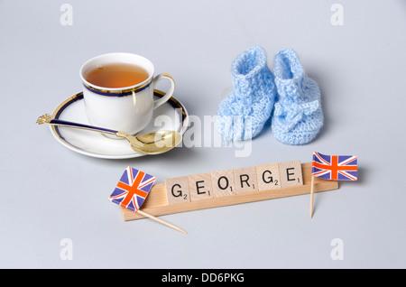 El Royal Baby Prince George Alexander Louis de Cambridge.