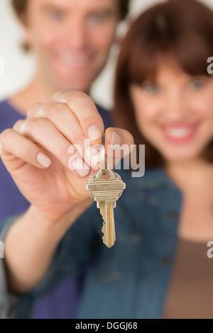 Par la celebración de nuevo la llave de la puerta
