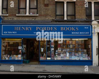 Henry Pordes Libros Charing Cross Road de Londres
