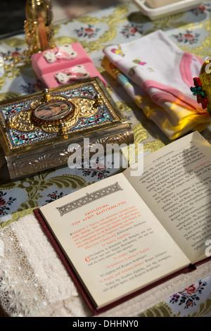 Folleto cristiano salmo ceremonia de boda ortodoxa escritos religiosos religión espiritual creencia ortodoxa leer estudio sacerdote creencia