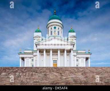 En Helskini Catedral de Helsinki, Finlandia. Foto de stock