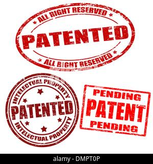 Juego de sellos patentado