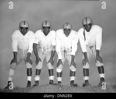 Jugadores de fútbol afroamericano no identificado en Tallahassee, Florida