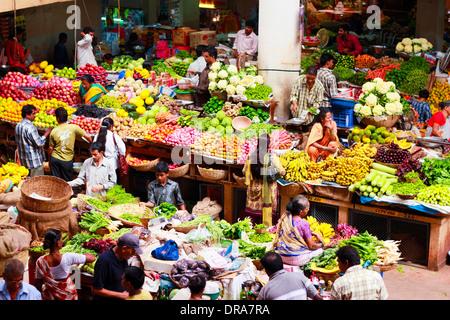 Mercado en Goa, India