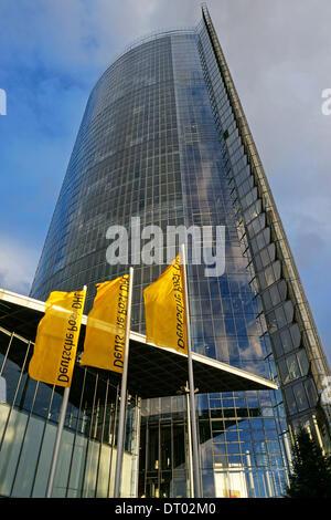 Alemania: Deutsche Post DHL sede (Post) de la torre en Bonn