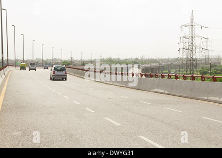 Indian freeway flyover Foto de stock