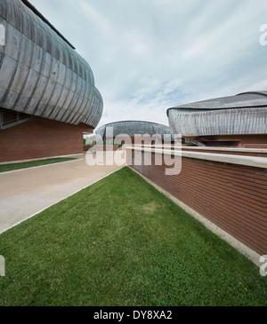 El Auditorio Parco della Musica, Roma, Italia