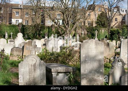 El Cementerio de Brompton, Royal Borough de Kensington y Chelsea, Londres, Reino Unido.