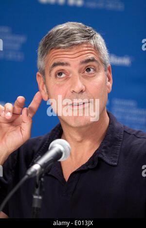 El actor George Clooney asiste a la conferencia de prensa de 'Los Descendats' en el Festival Internacional de Cine de Toronto, TIFF en Bell Lightbox en Toronto, Canadá, el 10 de septiembre de 2011. Foto: Hubert Boesl