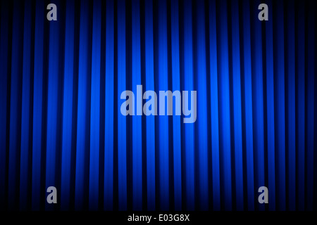 Las cortinas de terciopelo azul película fondos de poca luz.