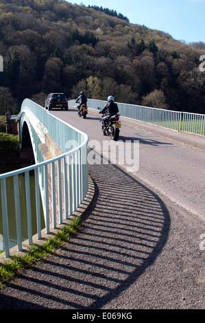 Bigsweir Puente sobre el río Wye cerca Llandogo, Monmouthshire, Gales, Reino Unido
