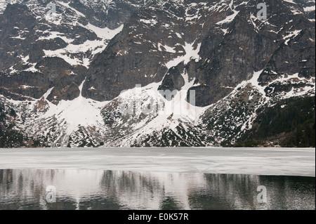Resorte congelado Lago Morskie Oko
