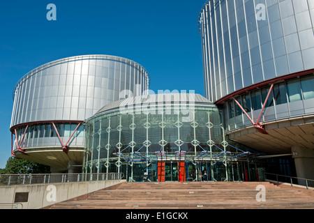 Tribunal Europeo de Derechos Humanos edificio (ECtHR), Estrasburgo, Alsacia, Francia