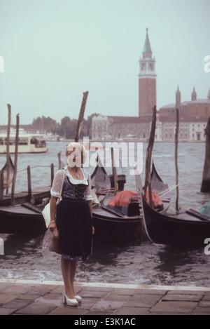 Turista en Venecia,Italia,70's