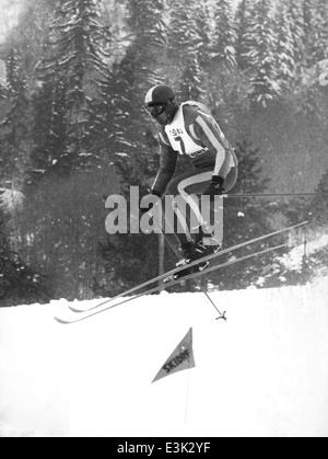 Karl schranz,campeonatos del mundo de esquí de Chamonix,1962