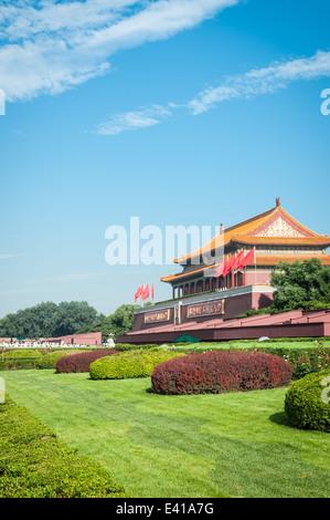 La Ciudad Prohibida en Beijing, China.