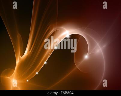 Diseño,Lámparas,vía de luces Foto de stock