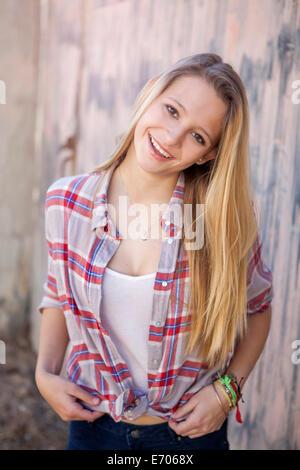 Retrato de una adolescente