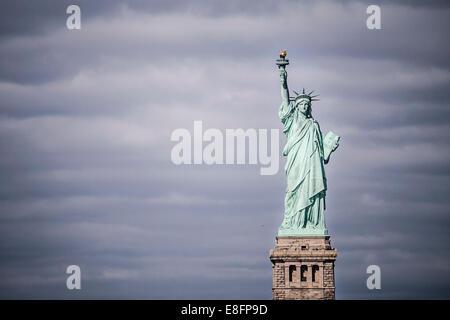 Estatua de la Libertad, Nueva York, Estados Unidos Foto de stock