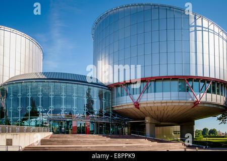 Tribunal Europeo de Derechos Humanos, Estrasburgo, Francia, construcción, Europa