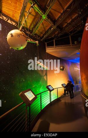Italia Turín Piamonte Pino Torinese Inauguración de la nueva zona de museos del Museo de Turín planetario astronomía y espacio INFINI.Al 17 de octubre de 2014