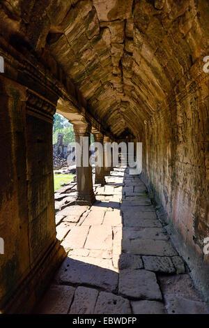 Bayon, Templo Khmer en Angkor, Siem Reap, Camboya. Construido a finales de los años 12 y principios de siglo 13 como la compra oficial del estado