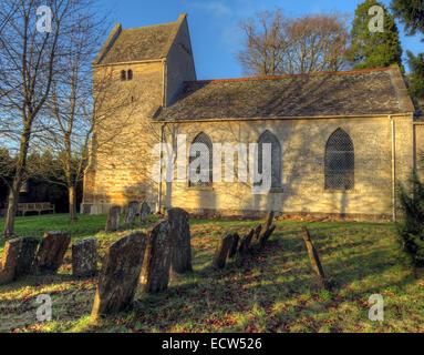 Iglesia de St Marys Ardley, Oxfordshire, Inglaterra, Reino Unido