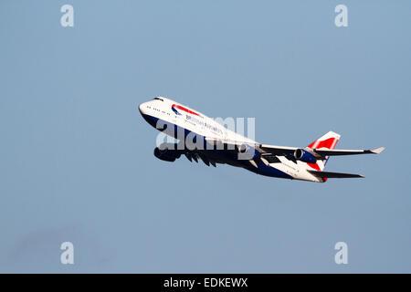G-BNLP Boeing 747-436 de British Airways, Inglaterra, Reino Unido.
