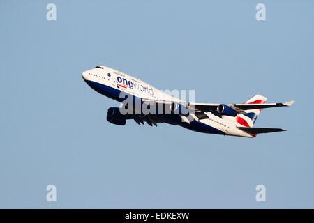 G-CIVZ Boeing 747-436 de British Airways, Inglaterra, Reino Unido.