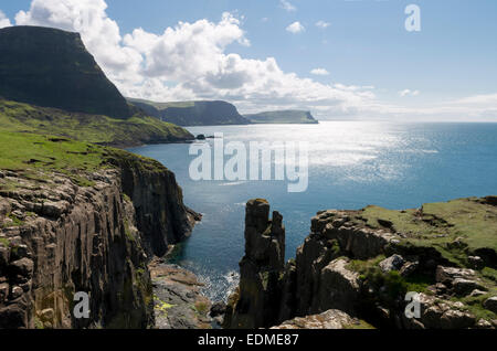 Cabeza waterstein moonen bay isla de Skye Foto de stock