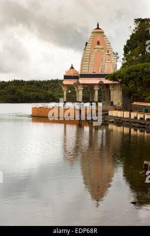 Mauricio, Grand Bassin, Ganga Talao lago sagrado templo